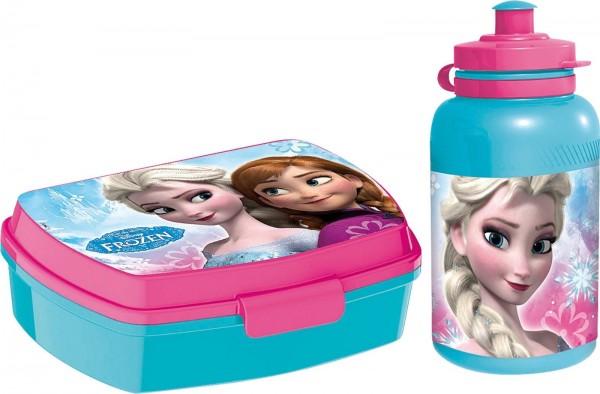 Frozen Brotdose und Trinkflasche