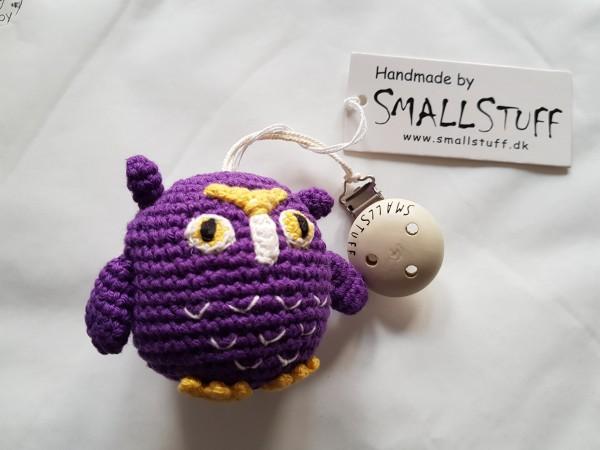 Smallstuff Anhänger - Eule in lila