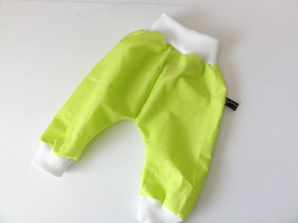 Baby Pumphose - in Neon grün