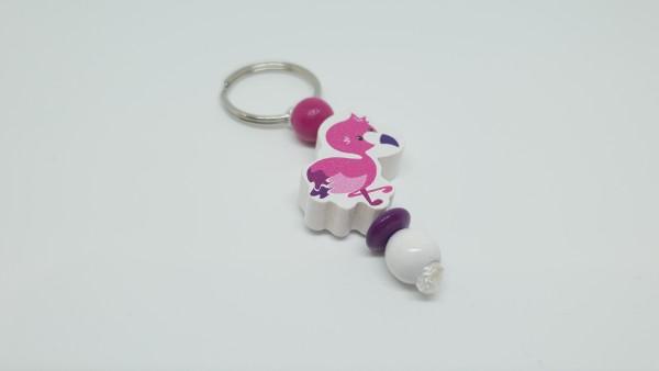 Reißverschlußhelferlein - Flamingo in pink