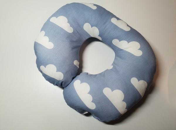 Nackenhörchen - Wolke in blau